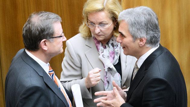 """Budgetdebatte: SP� k�mpft gegen das """"Krankjammern"""" an (Bild: APA/Robert Jaeger)"""