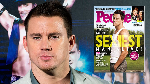 """Channing Tatum ist der """"Sexiest Man Alive 2012"""" (Bild: dapd, People)"""
