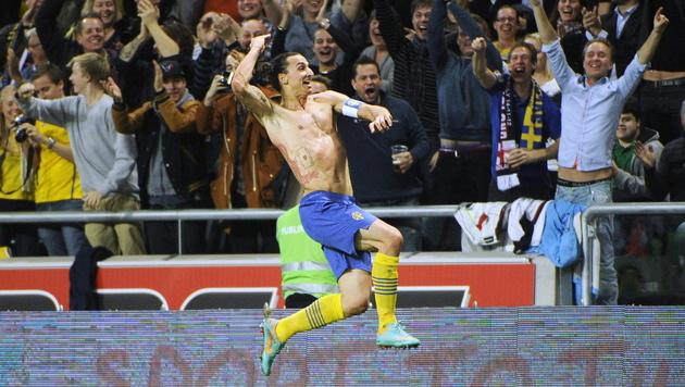 """Ibrahimovic wird mit """"zlatanieren"""" im Duden verewigt (Bild: EPA)"""