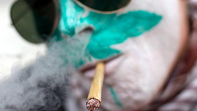 Legales Kiffen in zwei US-Staaten sorgt f�r Z�ndstoff (Bild: AP)