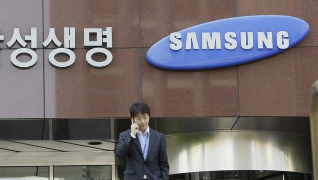 Samsung schlie�t g�tliche Einigung mit Apple aus (Bild: AP)