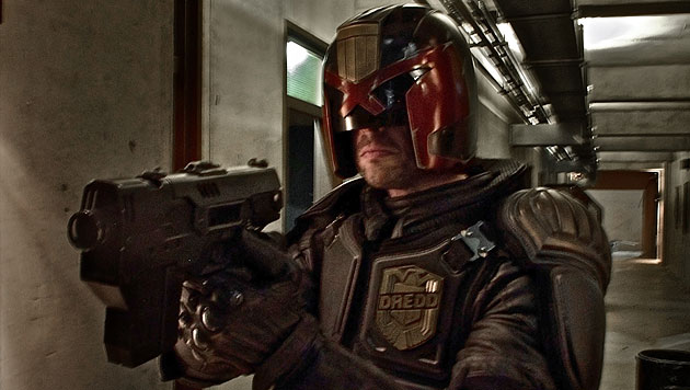 "Supercop ""Dredd"" jagt b�ses Luder namens Ma-Ma (Bild: Universum Film)"