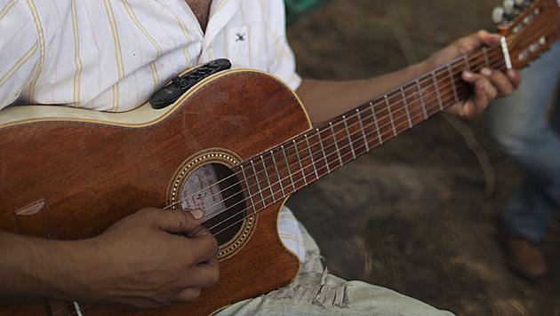 T�rkei: Arch�ologen fanden 3.500 Jahre alte Gitarre (Bild: dapd (Symbolbild))
