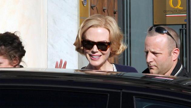 Nicole Kidman dreht in Genua Film über Grace Kelly