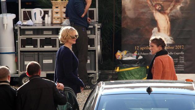 Nicole Kidman dreht in Genua Film über Grace Kelly (Bild: EPA)