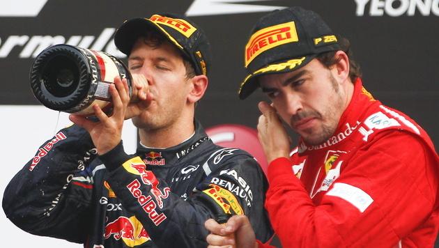 So holt Vettel schon in Texas seinen dritten WM-Titel (Bild: EPA)