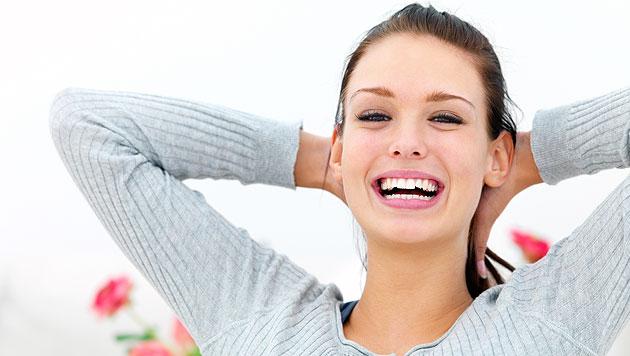 Über drei Viertel der Österreicher lachen täglich (Bild: thinkstockphotos.de)