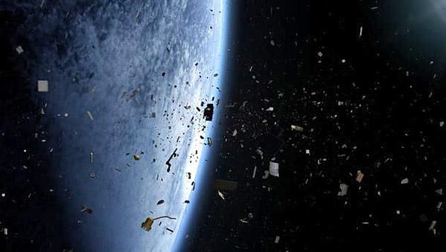 """Japan scheiterte mit Weltraumschrott-Projekt KITE (Bild: Malrae Picture/""""Space Junk 3D"""")"""