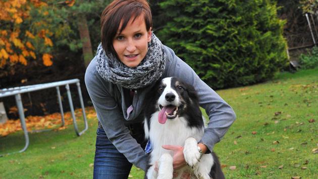 """Alle lieben """"Esprit"""": Zu Besuch beim 100.000-Euro-Hund (Bild: Horst Einöder)"""
