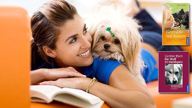 Jetzt mitmachen und tolle Tierbuch-Pakete gewinnen! (Bild: thinkstockphotos.de, Kosmos, krone.at-Grafik)