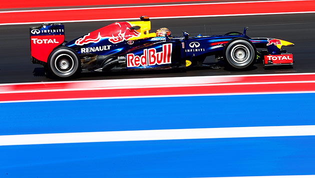 WM-Leader Vettel auch im dritten Training Schnellster (Bild: EPA)