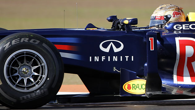 WM-Leader Vettel auch im dritten Training Schnellster (Bild: dapd)