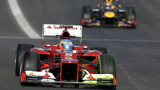 Getriebewechsel bei Massa: Alonso nun auf Startplatz 7 (Bild: dapd)