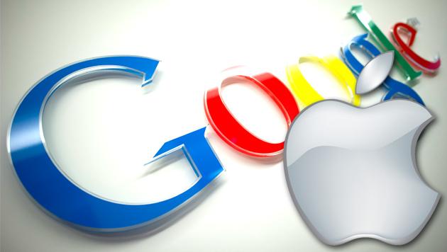 Apple und Google arbeiten an Patentfrieden (Bild: AP, Apple)