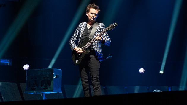 Brit-Rocker Muse feierten den pompösen Bombast (Bild: Andreas Graf)