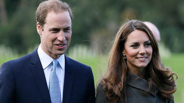 Herzogin Kate angeblich in freudiger Erwartung (Bild: dapd)