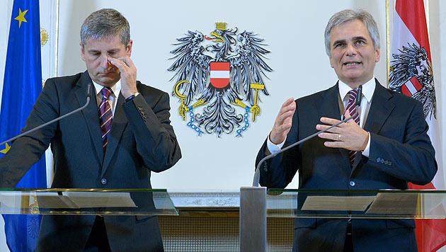 """""""Auf Österreich kommen erhebliche Mehrkosten zu"""" (Bild: APA/Roland Schlager)"""