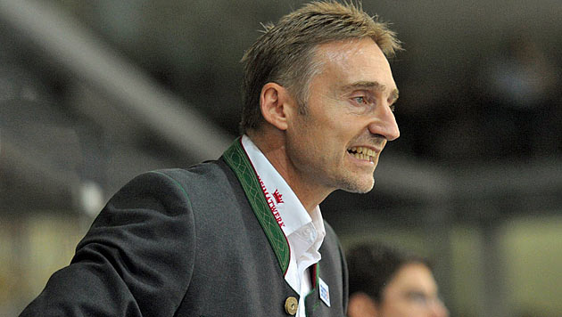 KAC-Trainer Weber nimmt aus privaten Gründen Auszeit (Bild: APA/EXPA/REINHARD EISENBAUER)