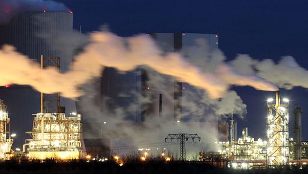 Minus vier Prozent bei Treibhausgas-Emissionen (Bild: dapd (Symbolbild))