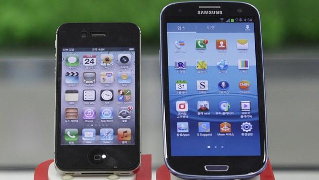 Nächste Patentschlacht für Apple und Samsung kommt (Bild: AP)