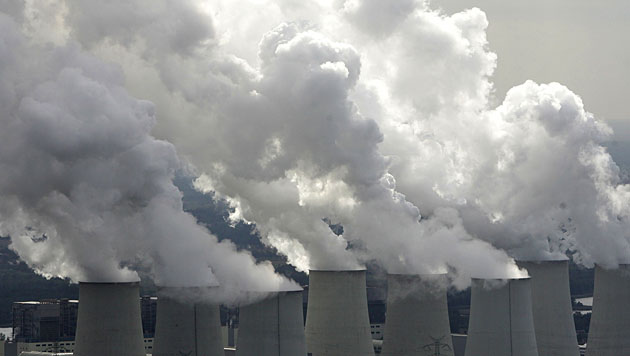 Neuer Höchststand bei Treibhausgasen (Bild: dapd (Symbolbild))