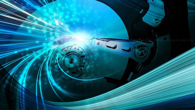 Laser-Festplatten mit 100 Terabyte sind in Arbeit (Bild: thinkstockphotos.de (Symbolbild))