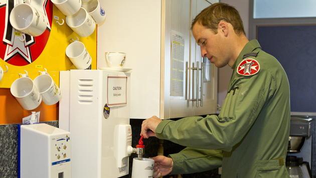 Sicherheitspanne mit Militär-Fotos von Prinz William (Bild: SAC Faye Storer / MOD)