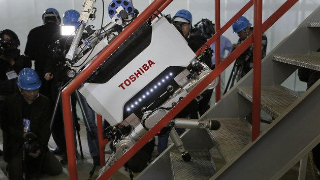 Toshiba-Roboter soll in Fukushima-AKW aufräumen (Bild: AP)