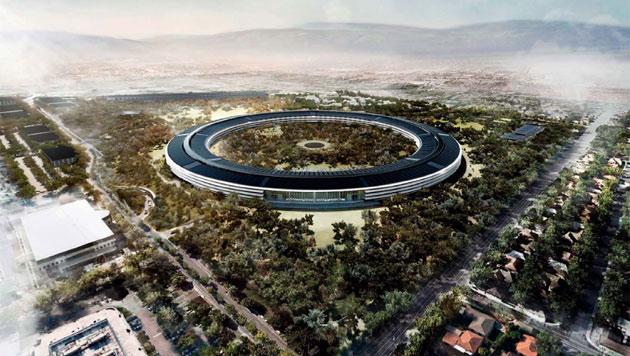 """Apples """"Raumschiff"""" deutlich teurer als zunächst geplant (Bild: Cupertino.org)"""