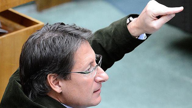"""Bucher: """"Stronach hat im U-Ausschuss Unwahrheit gesagt"""" (Bild: APA/Robert Jaeger)"""