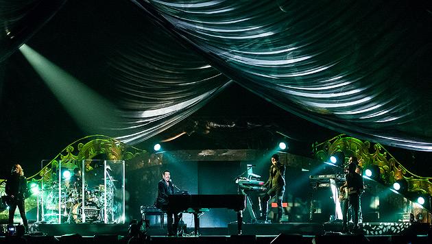 Lionel Richie brillierte in der Wiener Stadthalle (Bild: Andreas Graf)