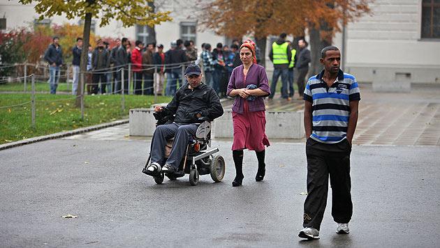 Asylwerber: Länder werden Quotenziel nicht schaffen (Bild: Gerhard Bartel)
