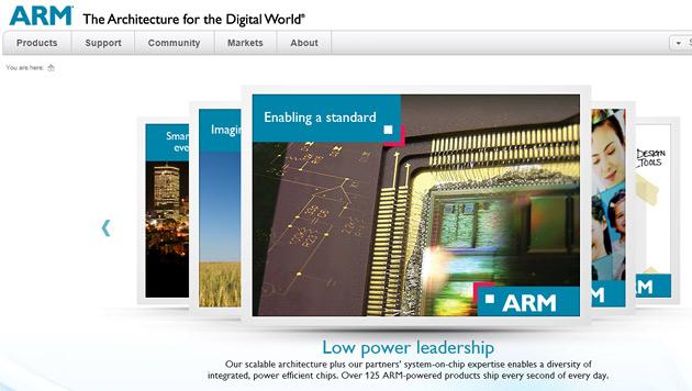 Japaner kaufen britischen Chipkonzern ARM (Bild: Screenshot arm.com)
