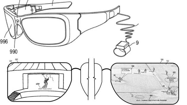 Microsoft arbeitet an Augmented-Reality-Brille (Bild: appft.uspto.gov)