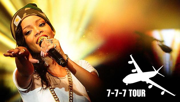 Mit Popstar Rihanna auf chaotisch-verrückter Flugreise (Bild: picturedesk.com, thinkstockphotos.de)