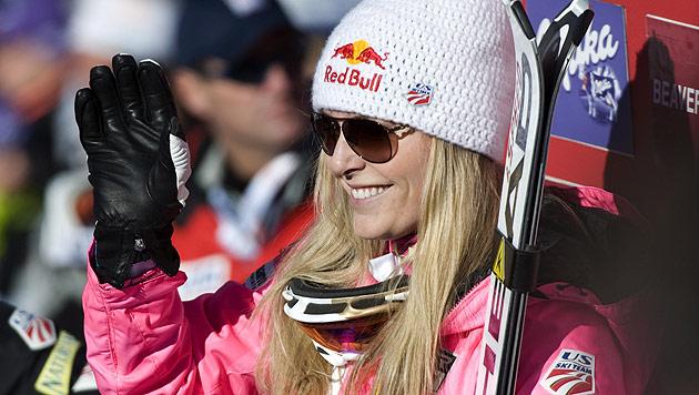 Lindsey Vonn soll nun doch gegen die Ski-Herren antreten (Bild: EPA)