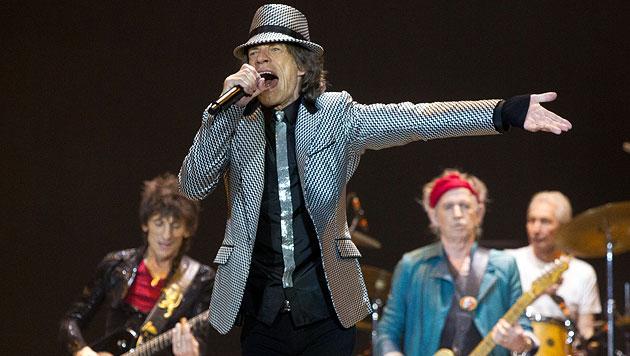 Rolling Stones rockten prallvolle O2-Arena in London (Bild: dapd)
