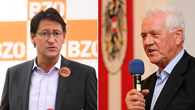 Stronach reichte Klage gegen BZÖ-Chef Bucher ein (Bild: APA/PHILIPP SCHALBER/ROBERT PARIGGER)