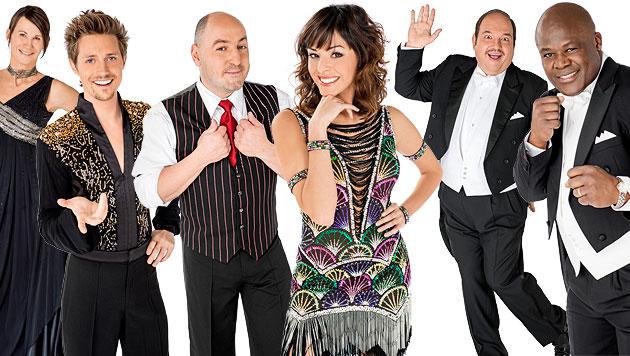 """Die ersten sechs """"Dancing Stars"""" für 2013 stehen fest (Bild: ORF/Ali Schafler, krone.at-Grafik)"""
