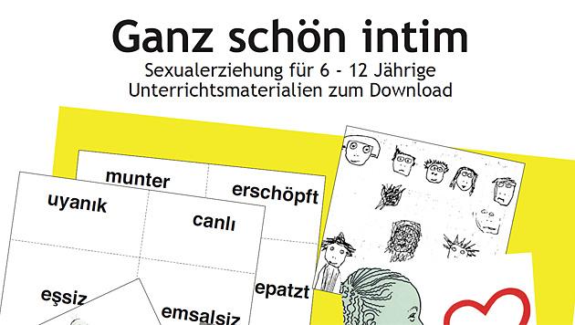 Empörung über Sex-Unterlagen für 6- bis 12-Jährige (Bild: Selbstlaut)