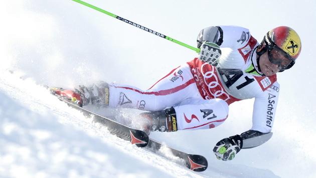 Hirscher gewinnt überlegen NorAm-RTL in Aspen (Bild: EPA)