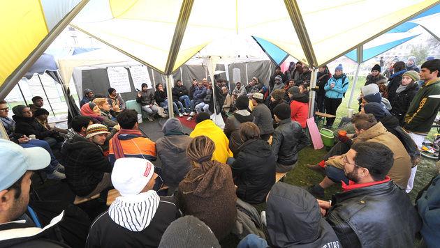 """Mikl-Leitner wettert gegen """"linken Aktionismus"""" aus D (Bild: APA/HERBERT PFARRHOFER)"""