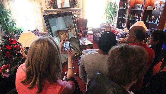 """""""Goodbye, J.R."""": Eine Pilgerfahrt zur """"Dallas""""-Ranch (Bild: EPA, dapd)"""