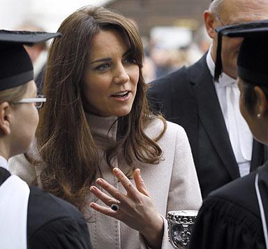 Herzogin Kate: Neue Frisur und gesundes Gewicht (Bild: AFP)