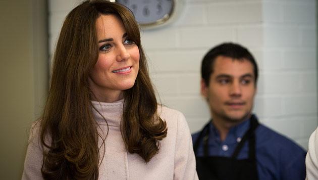 Herzogin Kate: Neue Frisur und gesundes Gewicht (Bild: dapd)