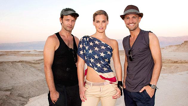 Bar Refaelis Modelshow startet als Flop (Bild: Sat.1)