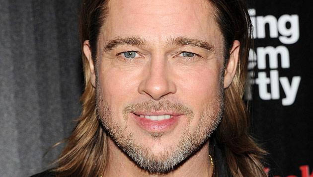Brad Pitt will mit Familie vermehrt in Frankreich bleiben (Bild: AP)