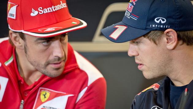 Ferrari ist gegen ein Dreamteam mit Alonso und Vettel (Bild: EPA)