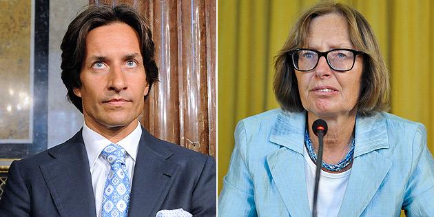 Grasser beleidigt: Moser zu 10.000 € Geldstrafe verurteilt (Bild: APA/HERBERT NEUBAUER, HELMUT FOHRINGER)