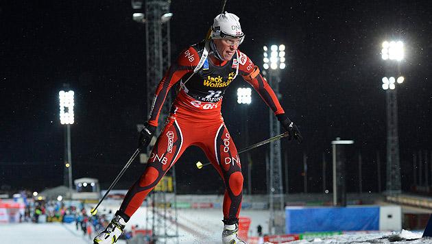 Norwegerin Berger dominiert Biathlon in Östersund (Bild: EPA)